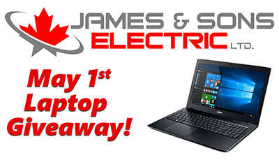 James and Sons Computer Giveaway